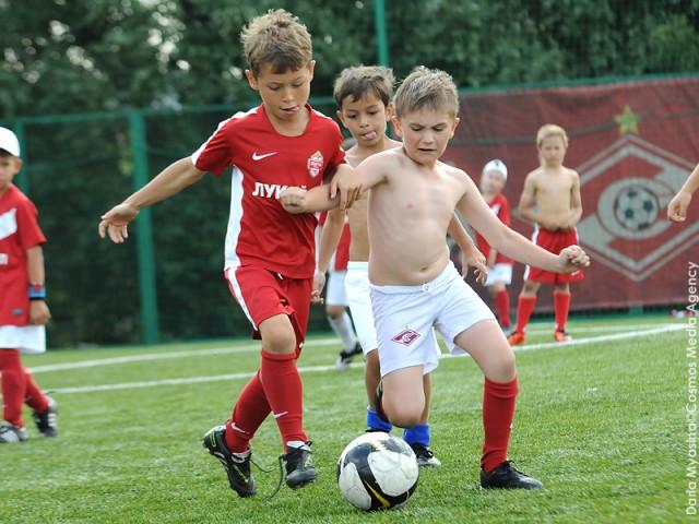 Академия Спартак имени Федора Черенкова, летний лагерь, детский футбол