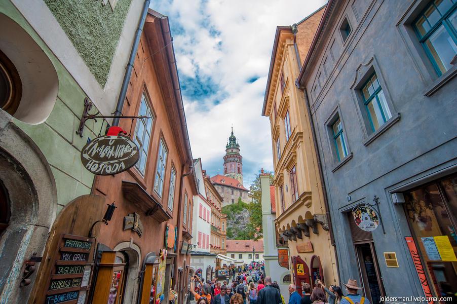 город ческий крумлов