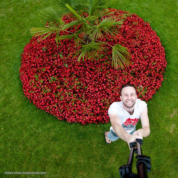 автопортрет чешского фотографа