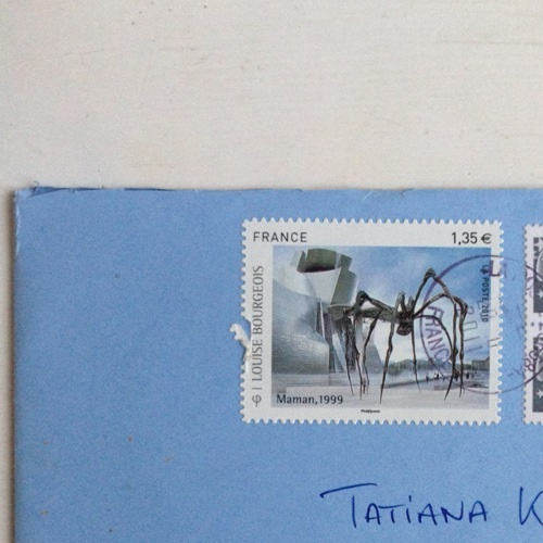 Louise Bourgeois stamp1
