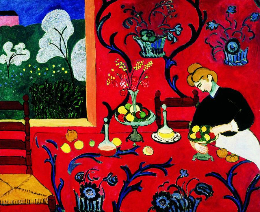Анри Матисс - Красная комната - 1908.jpg