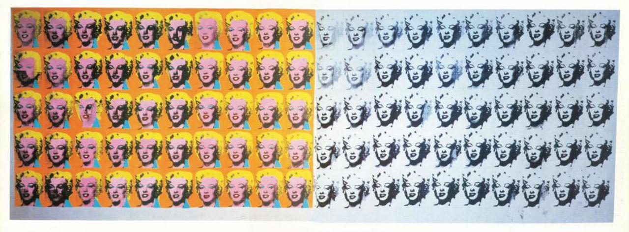 Энди Уорхол - диптих Мэрилин - 1962.jpg
