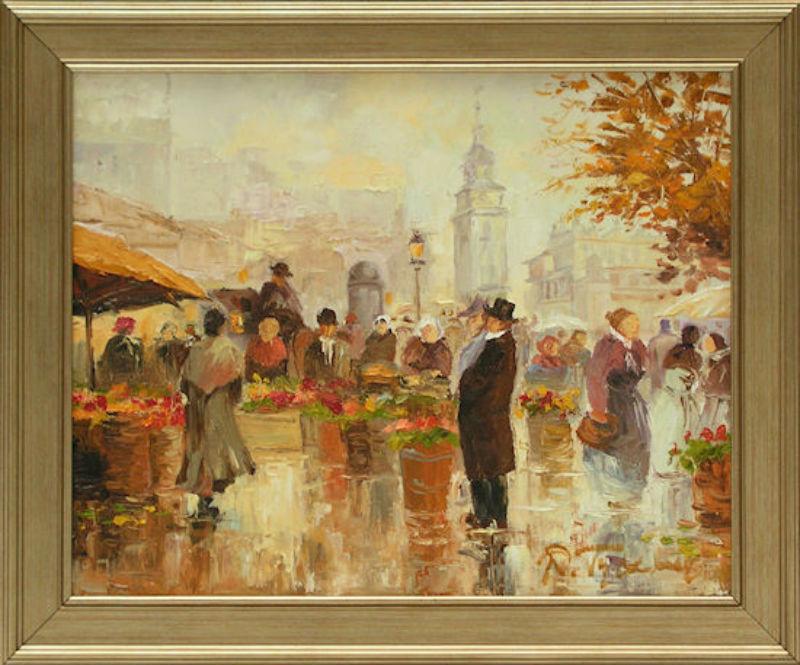 Tyszkiewicz - Краков Цветочный магазин на рыночной площади - 2010.jpg