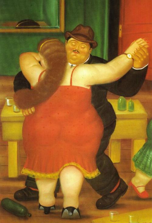 Фернандо Ботеро - Тпнцующая пара.jpg