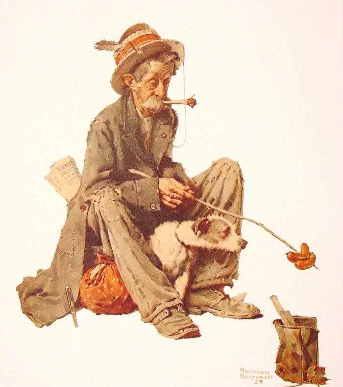 Бродяга и собака - 1914.jpg