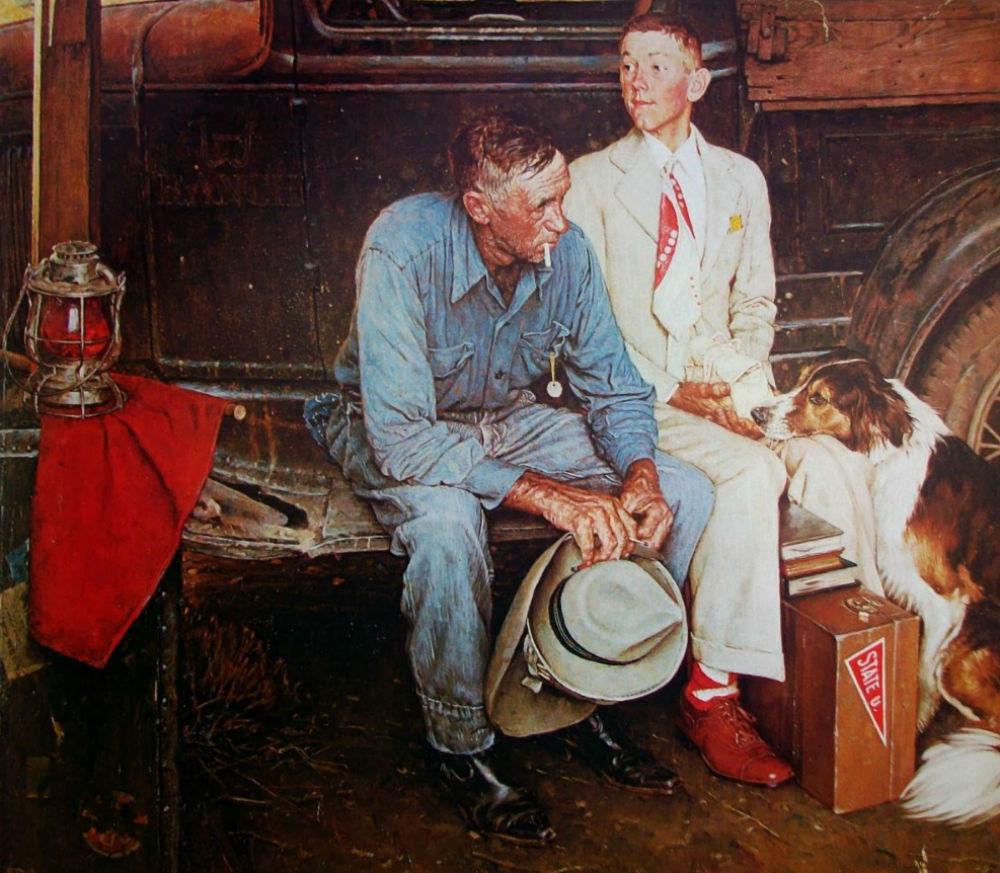 Прощание с отчим домом - 1954.jpg