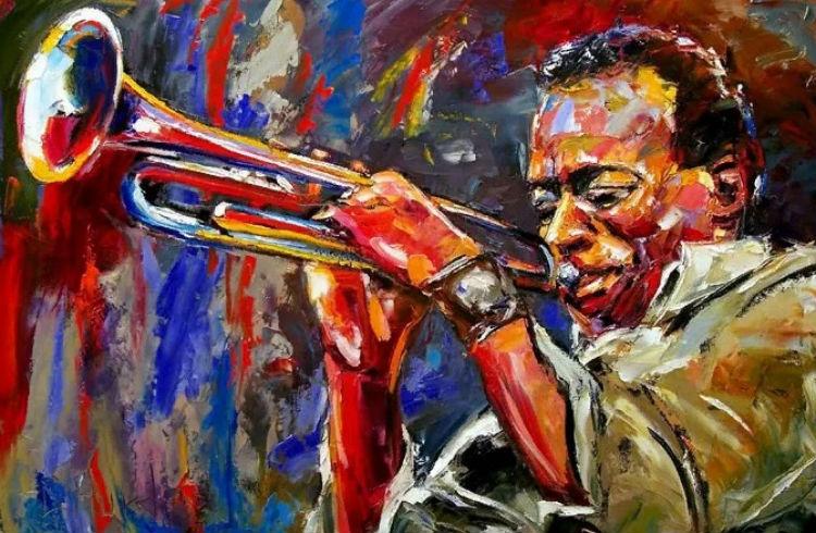 Дебра Херд - Майлз Дэвис - американский джазовый трубач бэнд-лидер.jpg