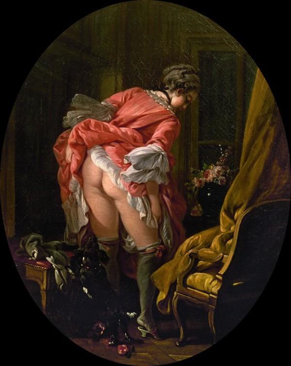 Франсуа Буше - Задранная юбка - 1742 (2).jpg