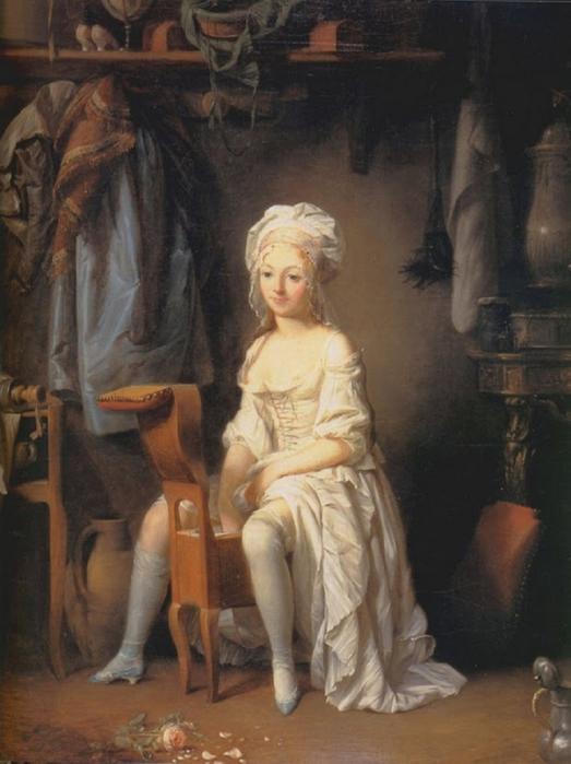 Луи-Леопольд Буальи - Интимный туалет с запахом розы - XIX век - частная коллекция.jpg