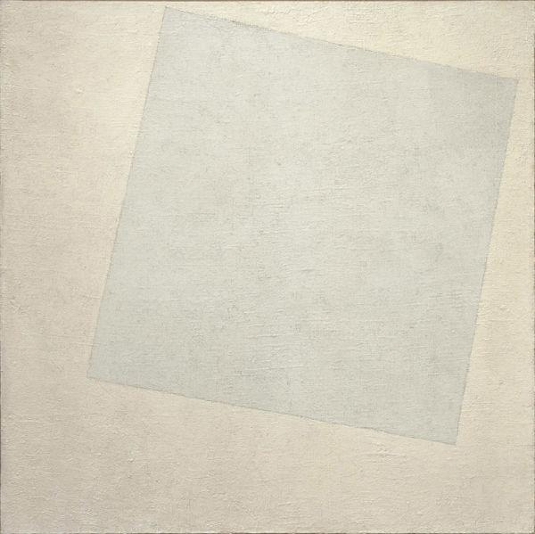 Казимир Малевич - Белый квадрат (Белое на белом) - 1918 - MoMA.jpg