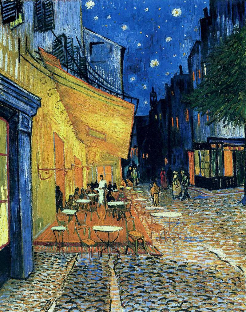 Винсент ван Гог - Ночная терраса кафе - 1888.jpg