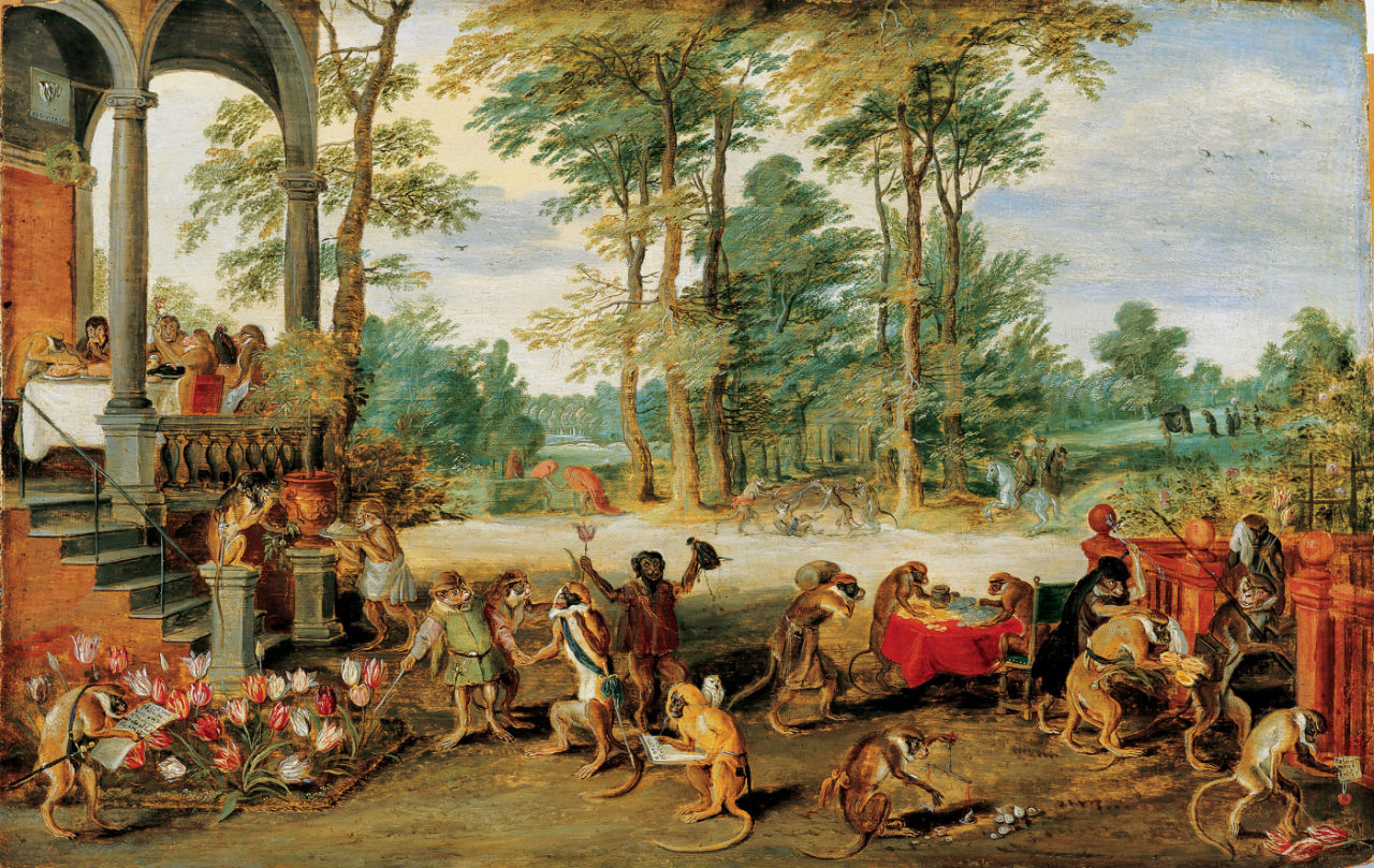 5-Ян Брейгель Младший - Аллегория тюльпаномании - 1640-е.jpg