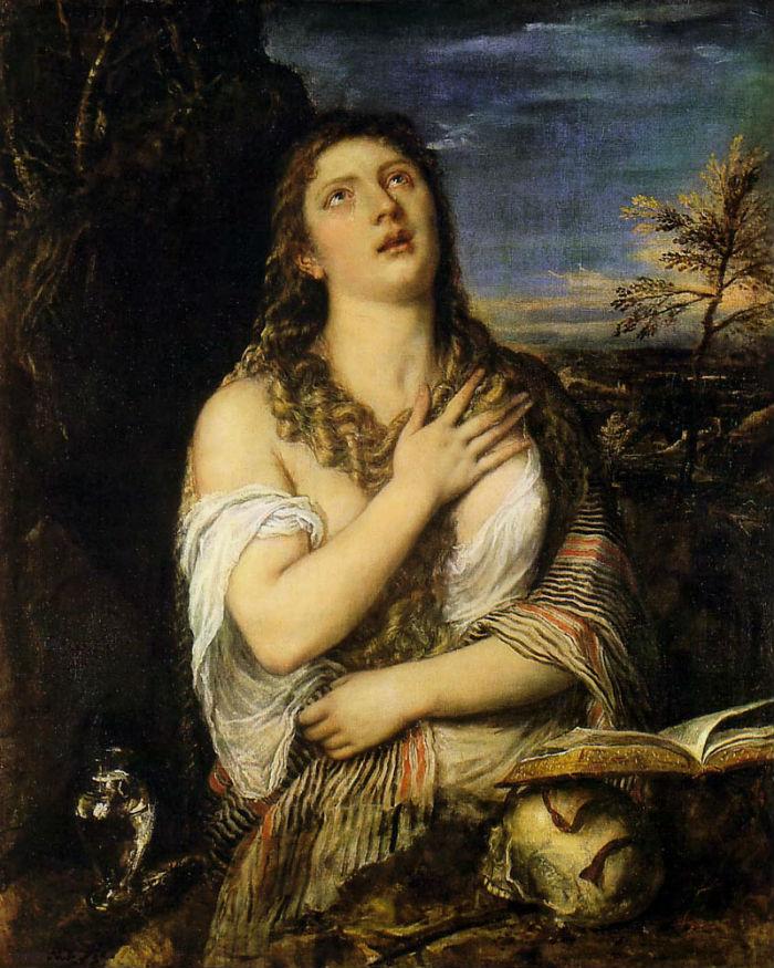 Тициан - Кающаяся Мария Магдалина.jpg