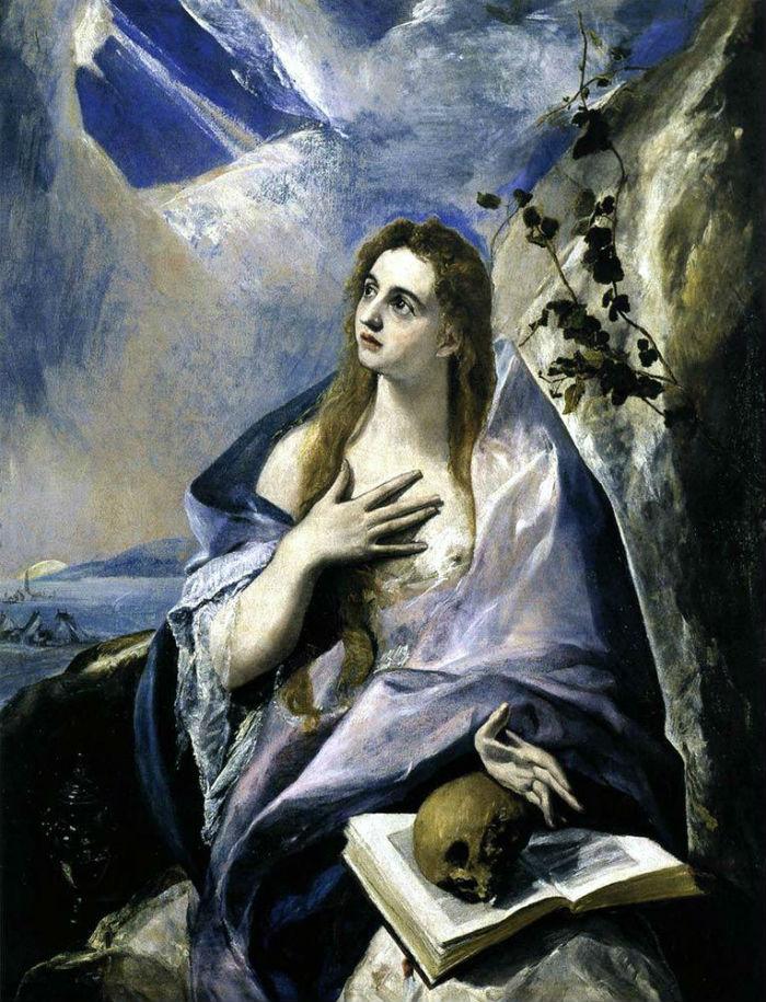 Эль Греко - Кающаяся Мария Магдалина.jpg
