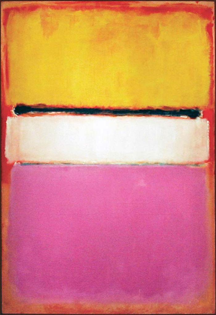 Марк Ротко - Белый центр (жёлтое розовое и лиловое на розовом) - 1950.jpg