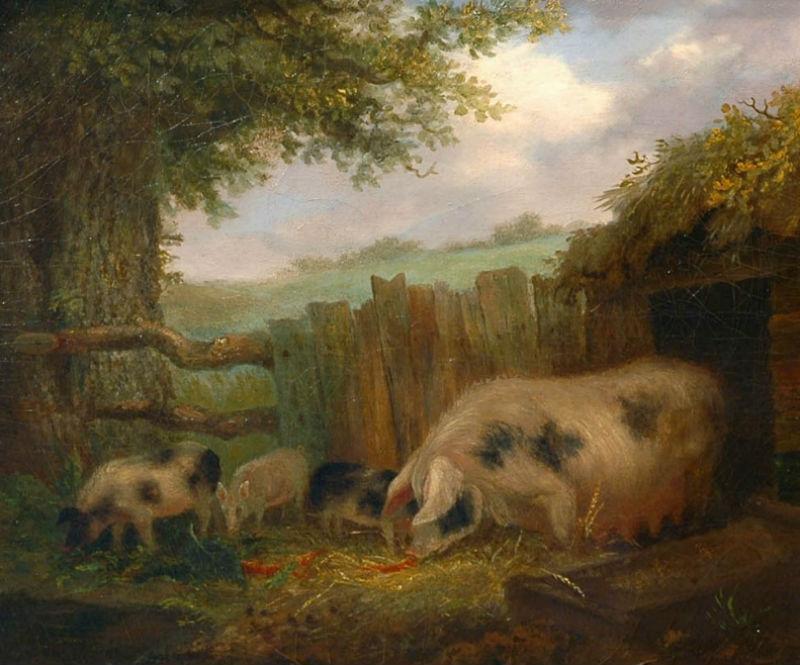 Джордж Морланд -  Свинарник.jpg