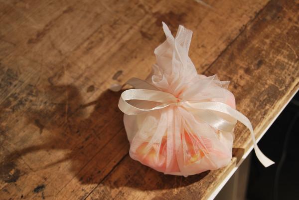 свадебный мешочек для лепестков