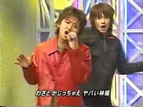 2001 01 19 - music station - arashi medley - kame y jin bacdancers 4313