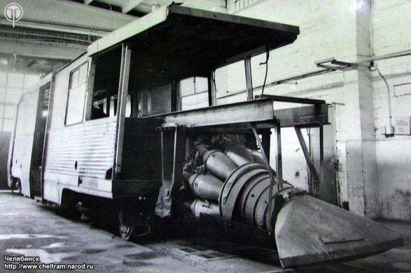Снегоочиститель с реактивным двигателем