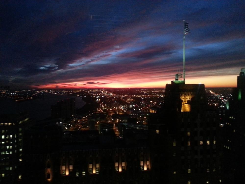 20121204 sunset