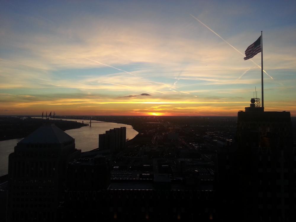 20121205 sunset
