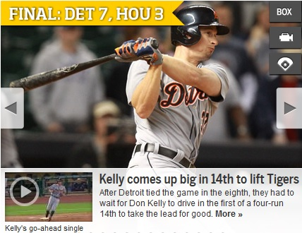 don kelly 14th inning rbi