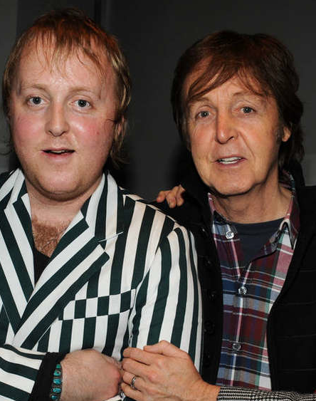 Sir Paul McCartney Surprised His Son James By Joining Him On Stage Last Night 270313