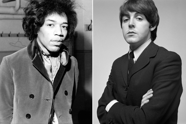 Image result for The Time Jimi Hendrix Sent Paul McCartney a Telegram to Join a Supergroup in 1969
