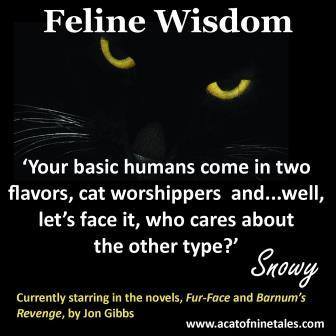 Feline Wisdom - two types of humans - compressed