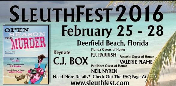 Sleuthfest 2016
