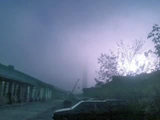 ...да плюс ещё туман с утра...