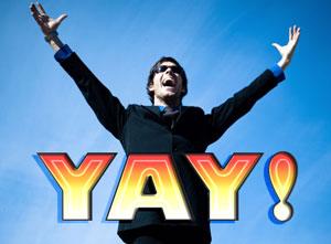 Vic says YAY!