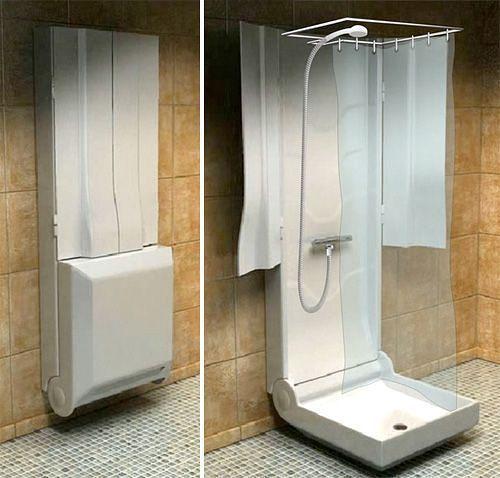 Складывающийся душ