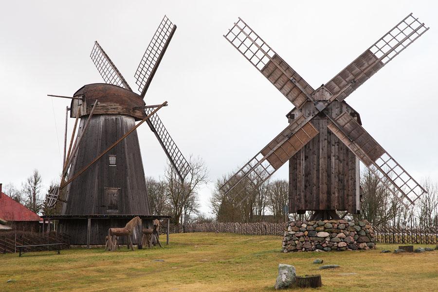Ветряные мельницы Англа