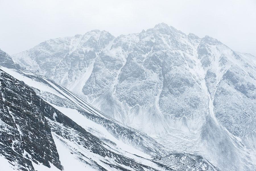 Горы около Ушуайи