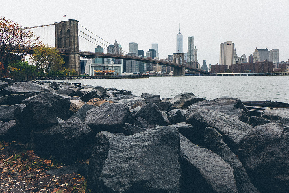 Brooklyn Bridge and Downtown