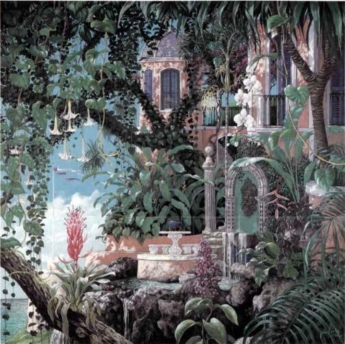 """""""Рандеву перед водопадом"""" Джона Кирлея, если гугл не врёт. (""""Rendezvous at Falls Head"""", John Kirlay, 1990)"""