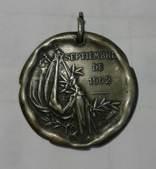 МЕДАЛЬ «СЕНТЯБРЬ 1902 ГОДА»