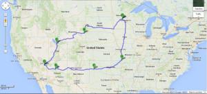 Vegas Road Trip 2013