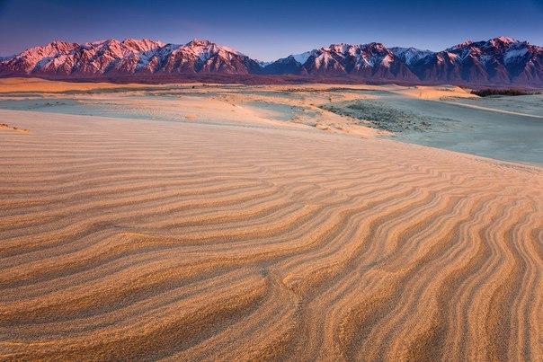 Чарские пески в Забайкалье