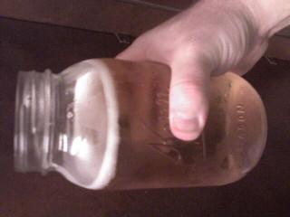 """Toby Keith's """"I love this bar"""" bar... Mason jars and all..."""