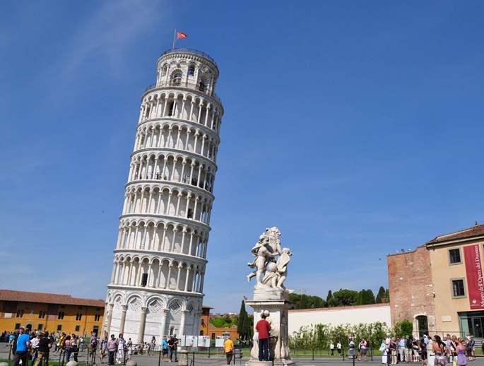 Где находится пизанская башню