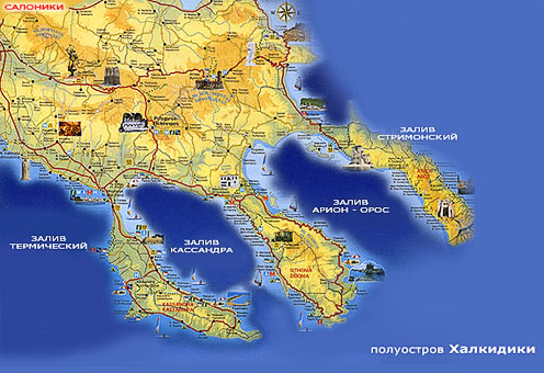 halkidiki_map