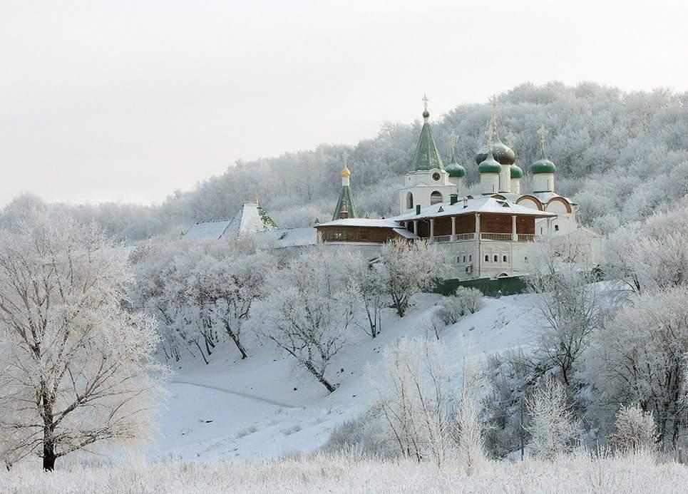 I used to go skiing around this monastery
