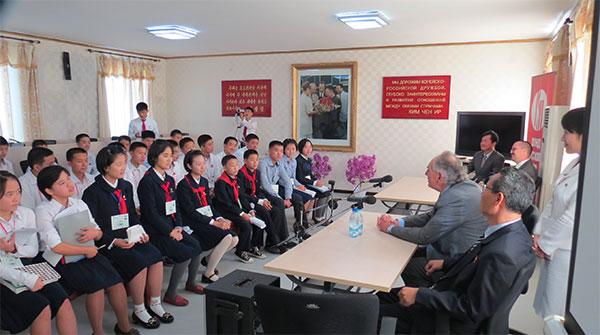 Олимпиада по русскому языку в Пхеньяне