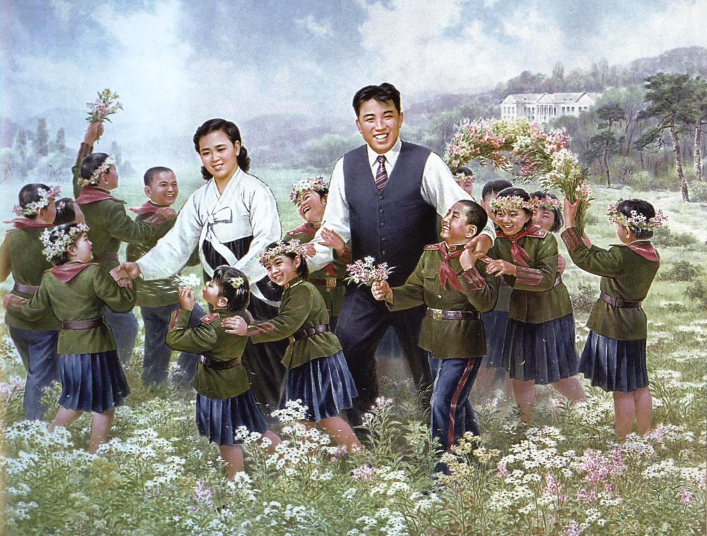 Ким Ир Сен и Ким Чен Сук стали родным отцом и матерью для детей павших революционеров