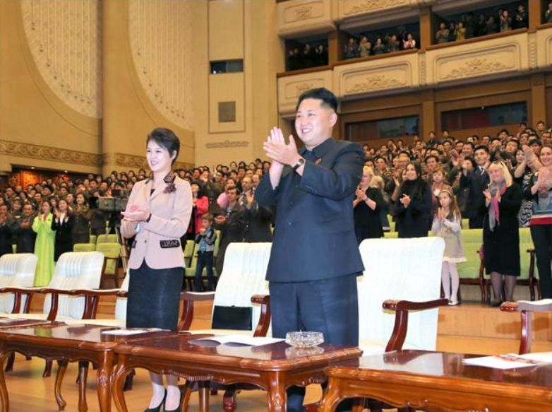 Ким Чен Ын и оркестр 21-го века