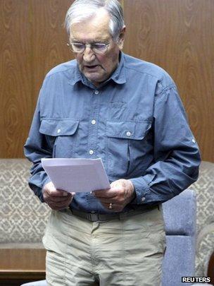 Извинение гражданина США Меррилла Ньюмана, представленное им в соответствующем учреждении после его задержания в КНДР