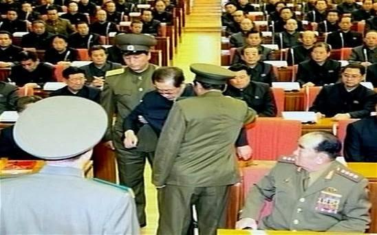 Задержанее разложенца Чан Сон Тхэка