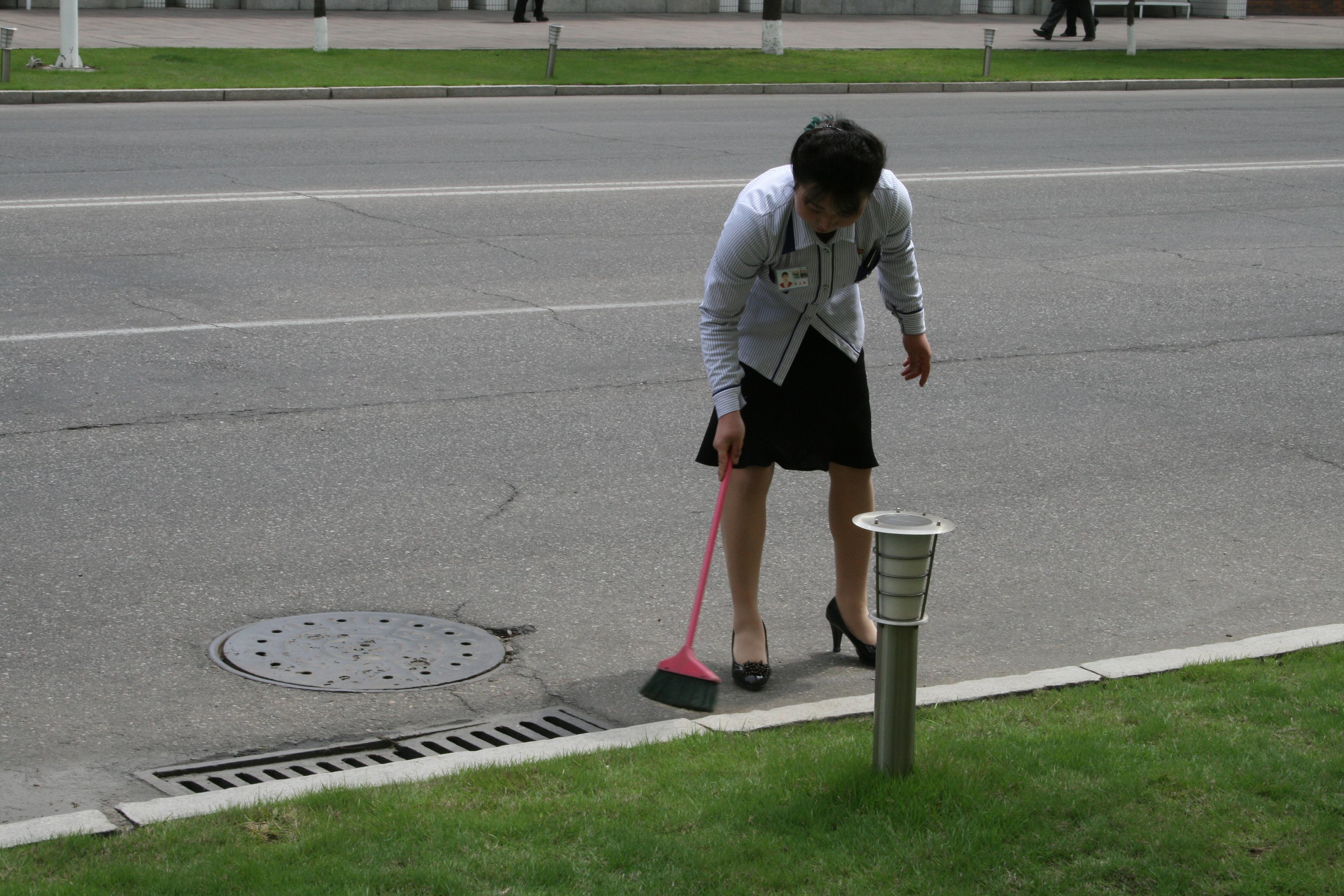 Как добиться идеальной чистоты в родном городе. Чучхейский рецепт